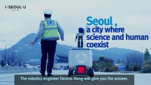 """Promotional Video of """"Safe City Seoul"""" in 10 Languages with Robotics Engineer Dennis Hong"""