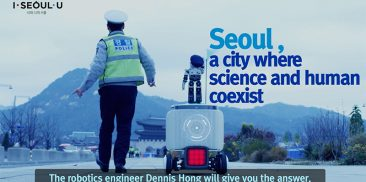 "Promotional Video of ""Safe City Seoul"" in 10 Languages with Robotics Engineer Dennis Hong"