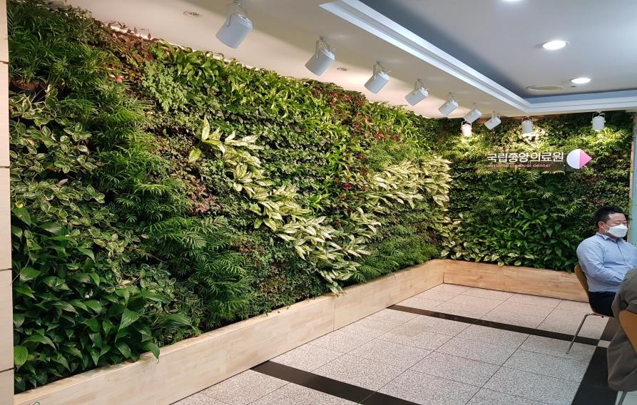 Smart Garden in National Medical Center