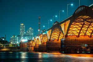Mangwon Hangang Park & Seongsandaegyo Bridge