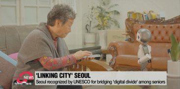 Seoul awarded by UNESCO for bridging 'digital divide' among seniors