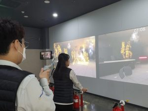 Online Disaster Experience Program by Mok-dong Disaster Experience Center in Seoul
