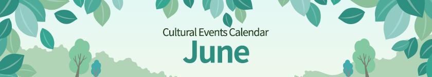 june 2021 Cultural Events