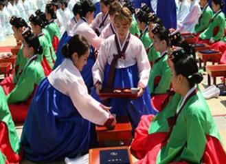 Seoul Live Streams Traditional Coming-of-age Ceremony held in Namsan Hanok Village via YouTube