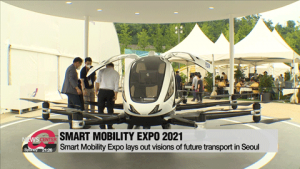 Smart Mobility Expo 2021 lays out visions of future transport in Seoul including flying taxis