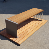Improved Urban Landscape With 54 SGPD Certified Items From Benches to Fences