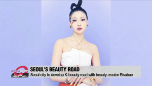 Seoul city to develop K-beauty road with beauty creator Risabae
