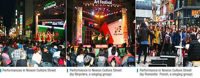 Culture Street Art Festival and Neighborhood Music Concert in Nowon-gu