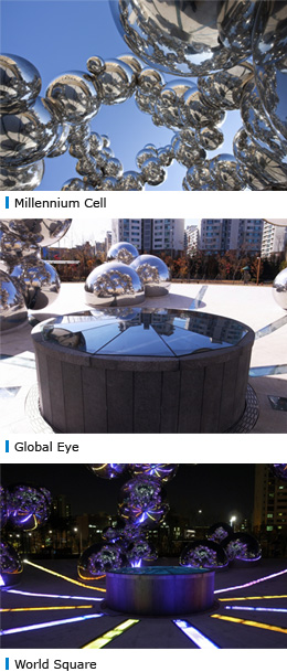 Millennium Cell, Global Eye, World Square