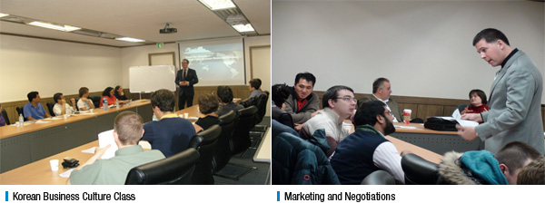 Korean Business Culture Class, Marketing and Negotiations