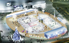 Mayor Oh opens Seoul's skating rink of memories