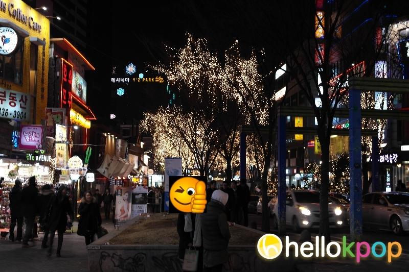 Hongdae – the street of Art and Indie culture