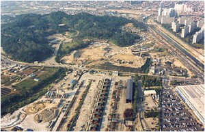 Construction of the Seoul World Cup Stadium (1998. 9. 18.)