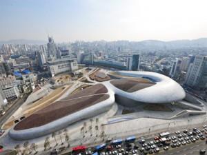 Panoramic View of Dongdaemun Design Plaza