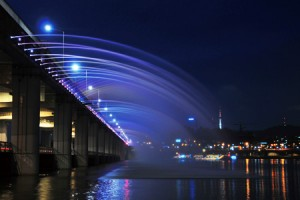 Banpodaegyo (Bridge) Moonlight Rainbow Fountain