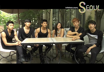 2PM_Behind the Scenes in TV Commercial